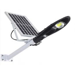 Автономный LED прожектор COB-30W на солнечной батарее
